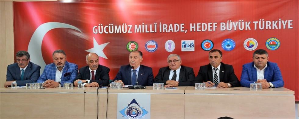 Erzurum'da STK'lardan Ortak Açıklama
